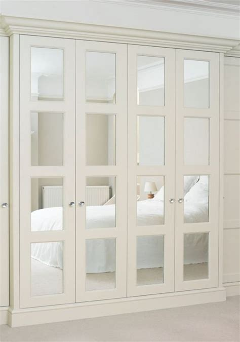 Mirrored Accordion Closet Doors 20 Mirror Closet And Wardrobe Doors Ideas Shelterness