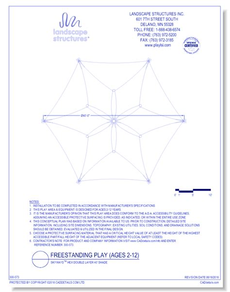 Landscape Structures Dwg Cad Drawings Caddetails