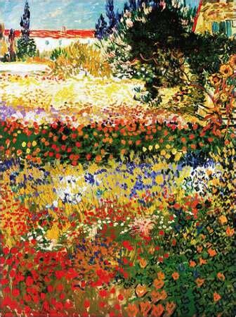 arte giardino moderno quadro di gogh che rappresenta un esilarante