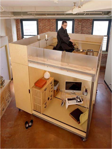 feng shui cube brings intimacy   loft   york