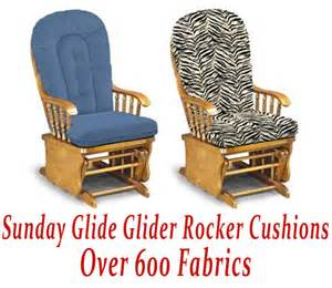 Cushions For Rocking Chair Glider Glider Rocker Cushions For Sunday Glide Chair