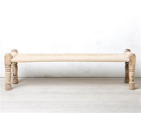 bench rental nyc woven rattan bench b004