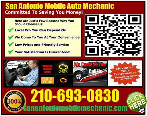 mechanics that come to your house mobile mechanic new braunfels texas auto car repair service