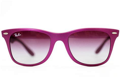 ban tech retro coloured liteforce wayfarers in violet