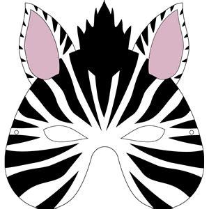 printable zebra masks silhouette design store view design 32268 zebra mask