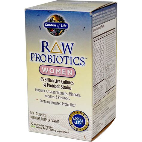 raw probiotics garden of life