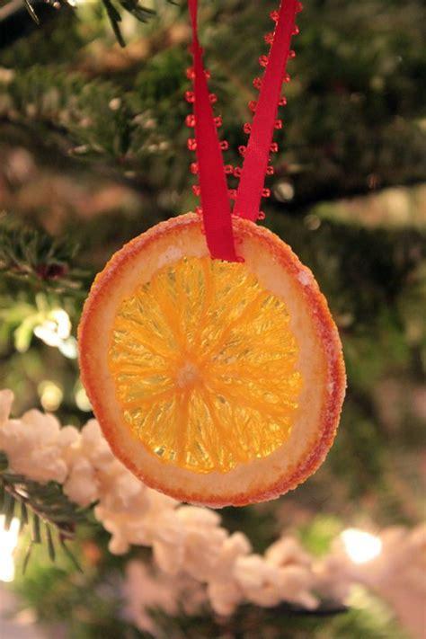 make dried orange slice ornaments crafts pinterest