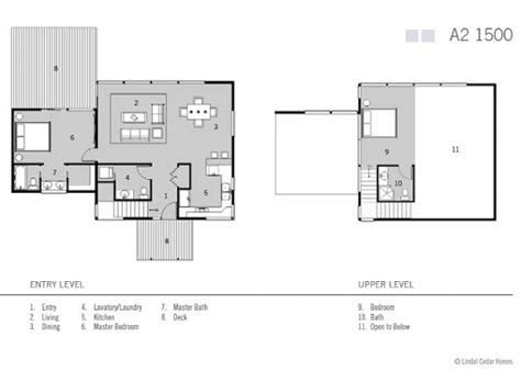 lindal cedar home floor plans eco friendly modern studio kitlindal cedar homes