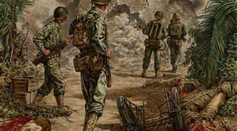 anime jepang perang kerajaan lukisan ini gambarkan tragisnya perang dunia ii