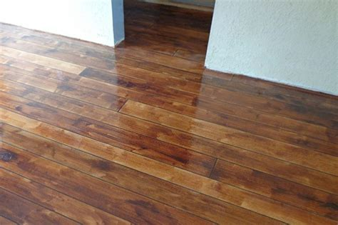 stained concrete diy flooring painting