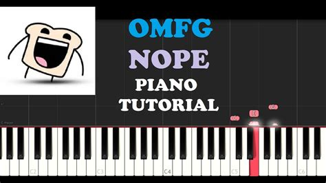 piano tutorial youtube channel omfg nope piano tutorial youtube