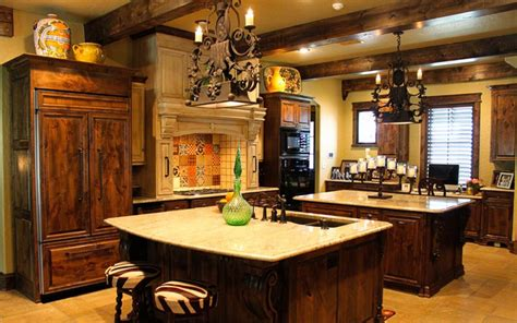 tuscan kitchen islands tuscan kitchen double island