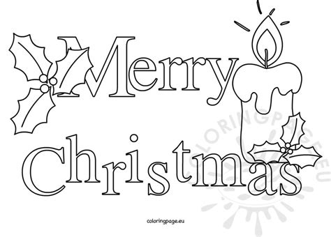 merry christmas letters coloring pages merry christmas text black and white coloring page