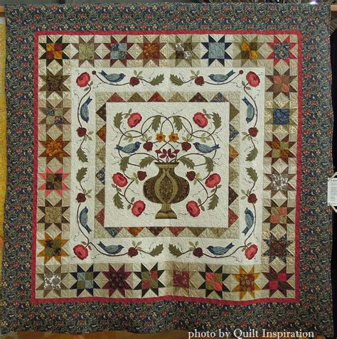 William Morris Quilt by Quilt Inspiration William Morris For Applique