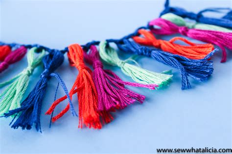 handmade fringe trim tutorial sew what