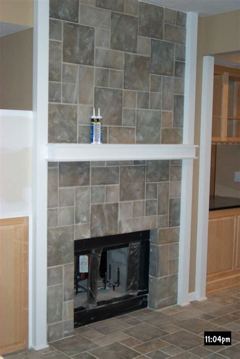 Fireplace Tiled by To Closing