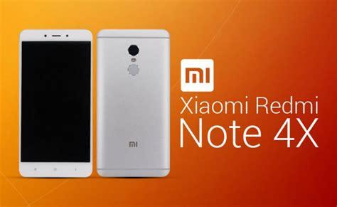 Resmi Note 4x spesifikasi dan harga xiaomi redmi note 4x