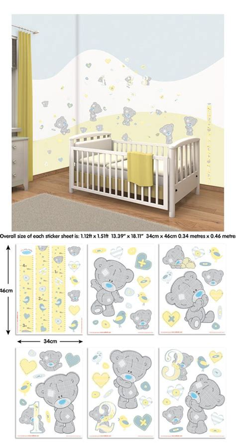 tatty teddy bedroom ideas tiny tatty teddy bear wall decal kit wall sticker outlet