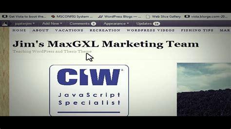 wordpress tutorial navigation menu thesis tutorial move navigation menu under header using