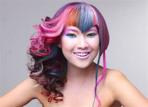 hairstyles with lots of color