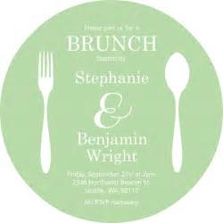 Free Brunch Invitation Template by Flatwear Circle Brunch Invitation Template