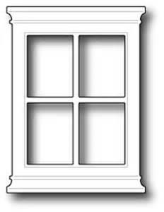 window templates memory box poppy sts small window die 816