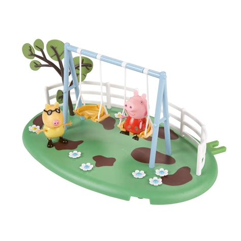 peppa pig swing peppa pig swing play ground setting at hobby warehouse