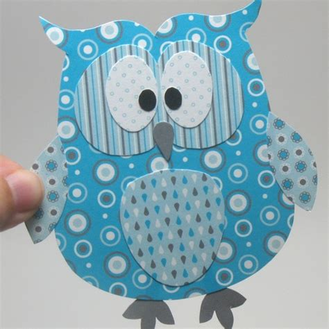 printable paper owl cute owl picture can get printable layered paper owl via