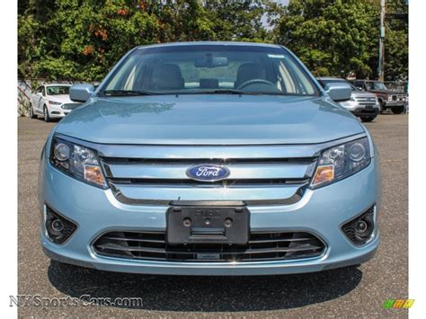 2010 ford fusion light 2010 ford fusion hybrid in light blue metallic photo