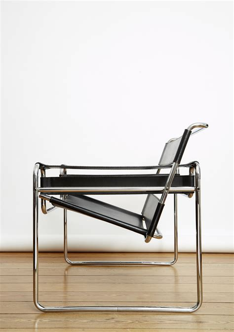 Moderne Sessel Design 633 by Marcel Breuer Wassily Chair Eilers Interieur