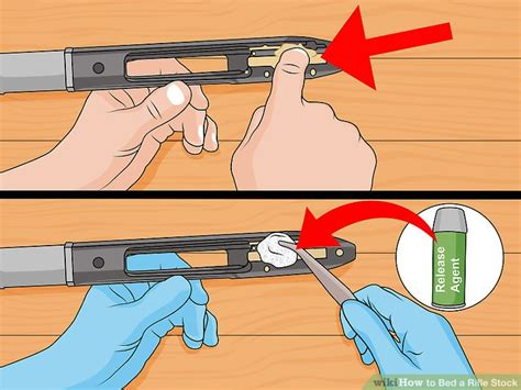 how to bed a rifle how to bed a rifle stock with pictures wikihow
