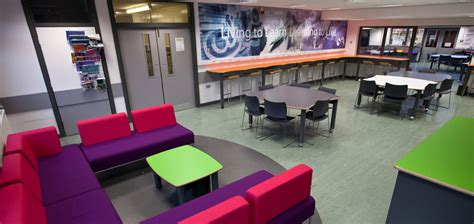 Common Room Decorating Ideas by Sutton Academy Sixth Form Refurbishment Studies