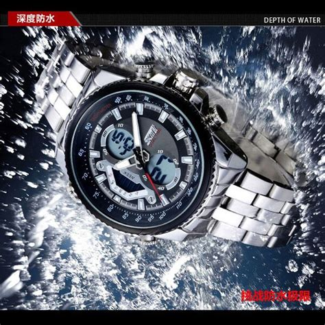 Skmei 9110 Original Water Resistant 50m Black Berkualitas skmei jam tangan analog digital pria ad0993 black