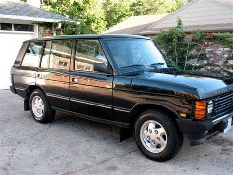 active cabin noise suppression 1995 land rover range rover user handbook service manual 1995 land rover range rover how to change top water hose 1995 range rover