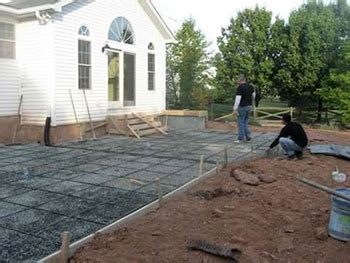 how much to pour concrete patio decorative concrete contractor in ashburn va call 703 898 3742 for pricing and details