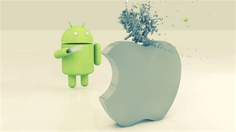 android vs apple apple vs android wallpapers wallpaper cave