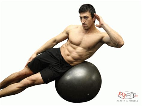 medicine ball woodchoppers  exercise ball exercise myfit