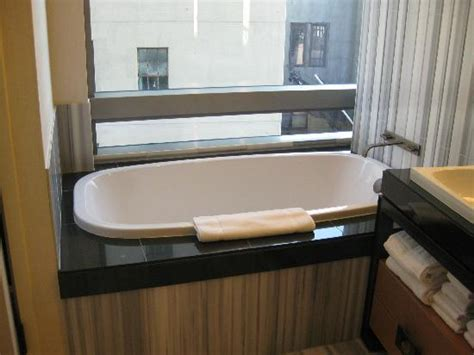trump soho bathroom separate bath tub picture of trump soho new york new york city tripadvisor