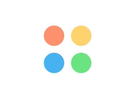 google design loading dots throbber by john w long dribbble