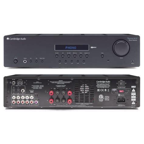 Cambridge Sr20 Audio Topaz Hitam lificateur int 233 gr 233 cambridge audio topaz sr20