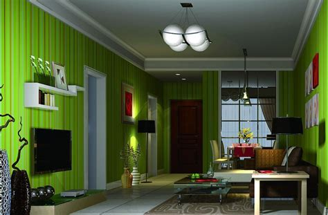 green living room  interior design ideas decorating room