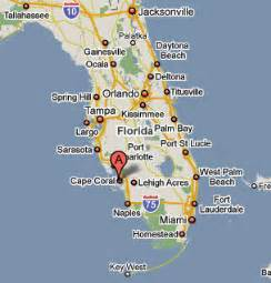 where is cape coral florida on the map sighting reports 2009