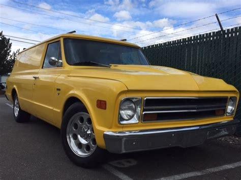 1968 chevrolet truck 1968 chevrolet panel truck