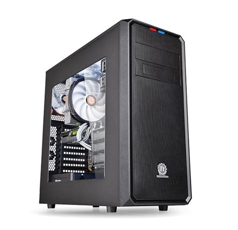 gabinete meaning versa mid tower cases from thermaltake are ly ventilated