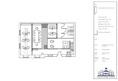 technical floor plan technical drawing floor plan technical
