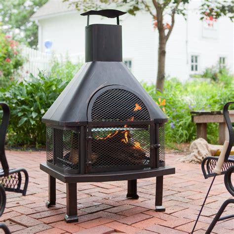 Best Chiminea For Deck Best Outdoor Fireplace