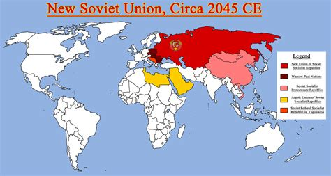 russia map before 1980 map of the new ussr and allies by redrich1917 on deviantart