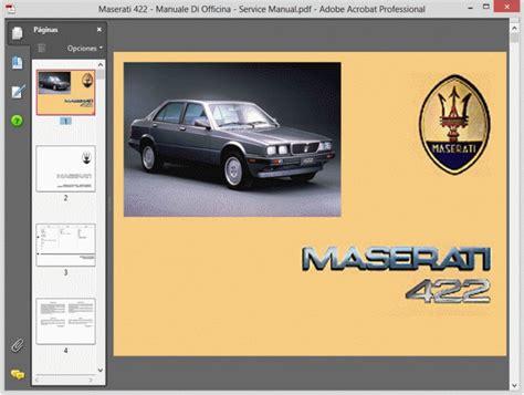 repair voice data communications 1989 maserati 228 auto manual service manual maserati 228 manuale di officina service manual whirlpool ach 988 wh wp