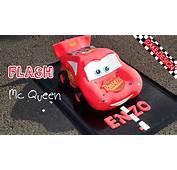 G&226teau Cars  Flash Mcqueen Cake Design YouTube