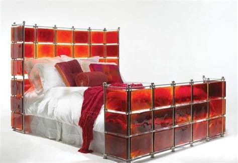 sexy beds sexy stained glass beds red hot bed by xander blue